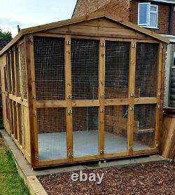 Wooden Cattery/Chalet/Cats/Pets/Run/Kennel/Aviary/Rabbit Run