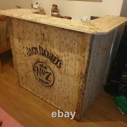 Wooden Home Bar, Man Cave, Micro Pub, Counter