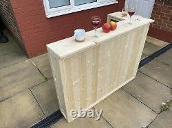Wooden Home bar L Shape