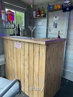 Wooden Home bar diffrent finishes Man cave