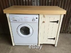 Wooden Pine Kitchen Cupboard Unit Appliance Gap Utility Room In Any Colour