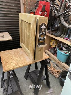 Wooden Wall Outdoor Bar Wine Beer And Gin Garden Party Home Drinks Bar